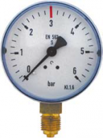 Arbeitsmanometer, 0-6/3 bar