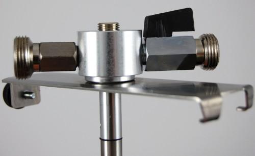 5 Liter Adapter, hochwertige Metallausführung mit  ~ Spülbecken Liter