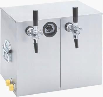 Zapfanlage, Trockenkühler, Bierkühler BT 35 2-leitig