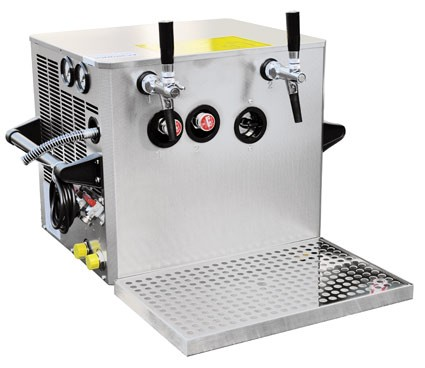 Verwendungsfertige Bier Zapfanlage OTK BT 75
